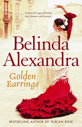BA Golden Earrings